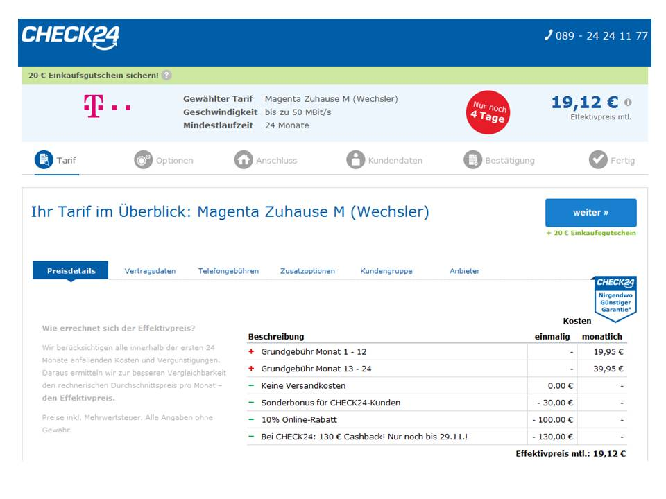 Community Wechsel Zur Telekom über Check24 Telekom Hilft Community