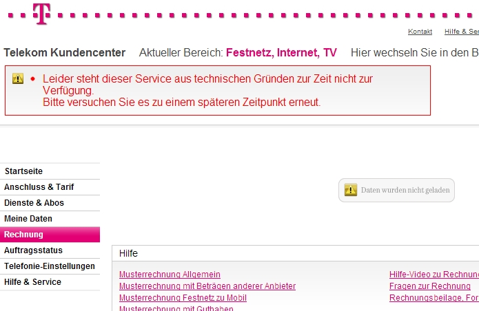 telecom de rechnung deutsche telekom rechnung online das. Black Bedroom Furniture Sets. Home Design Ideas