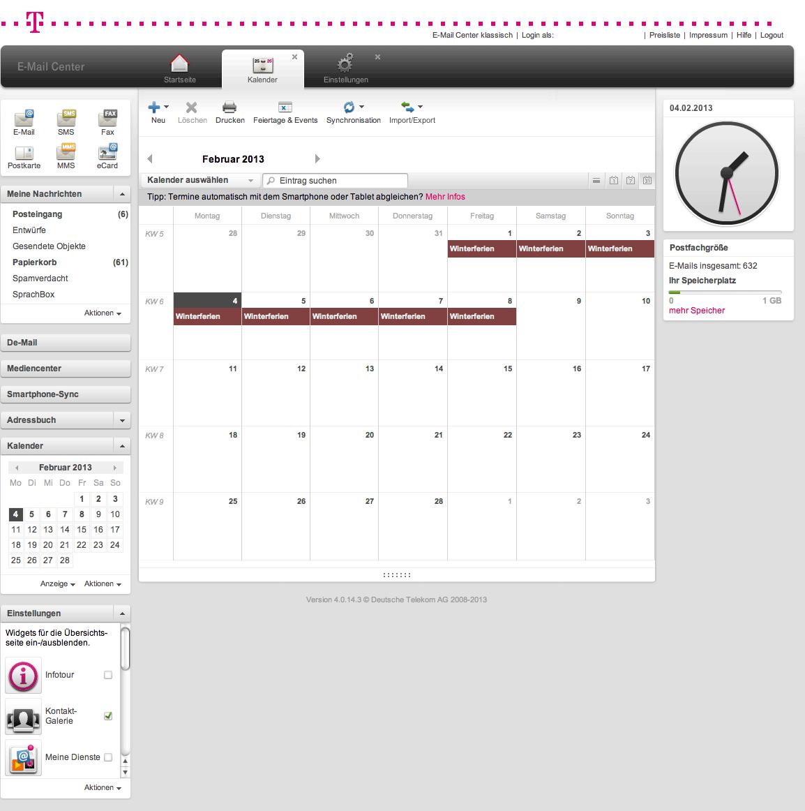 kalender t-online