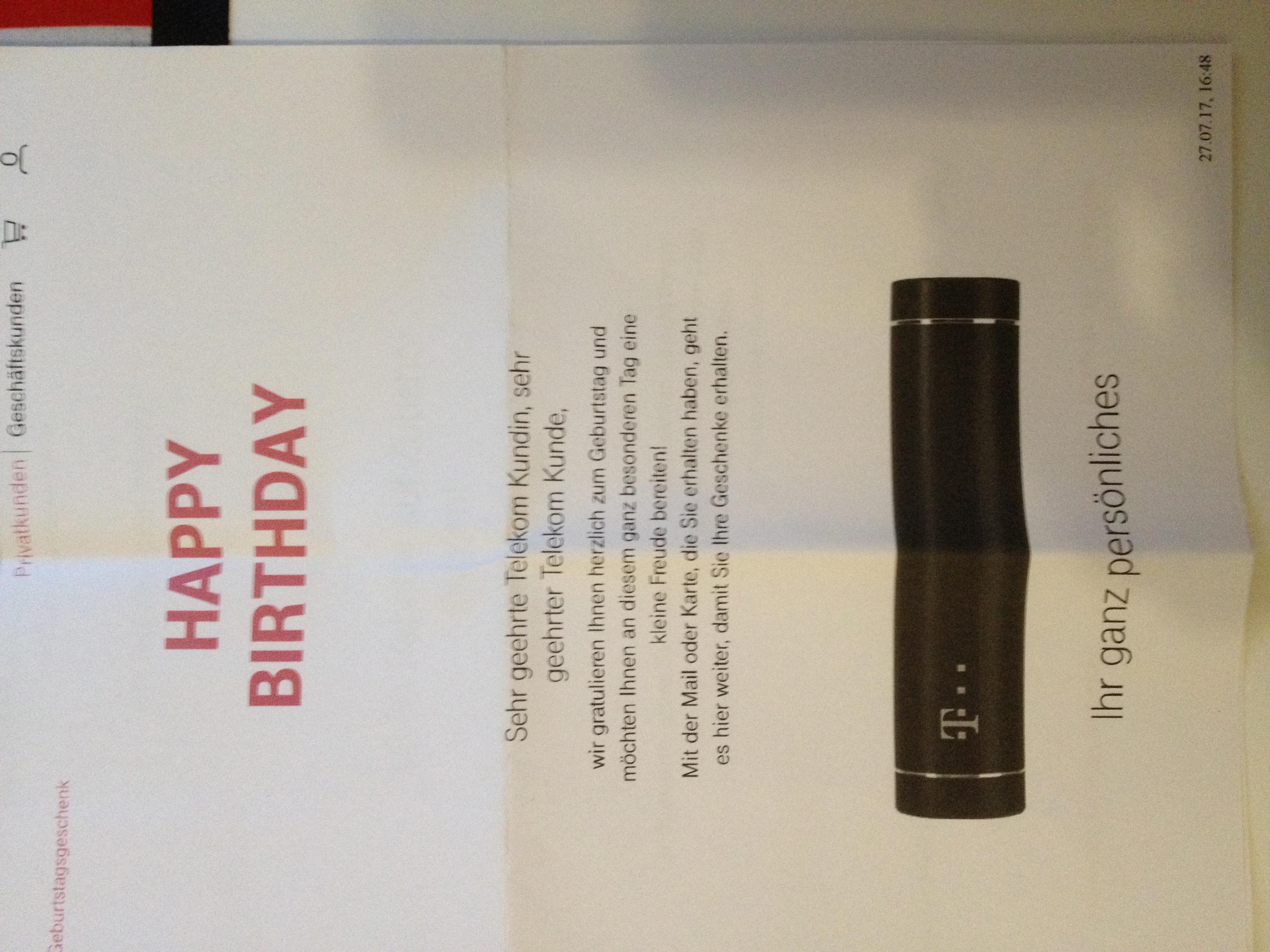 Community Wir Haben Als Geburtstagsgeschenk Die Powebank Bek