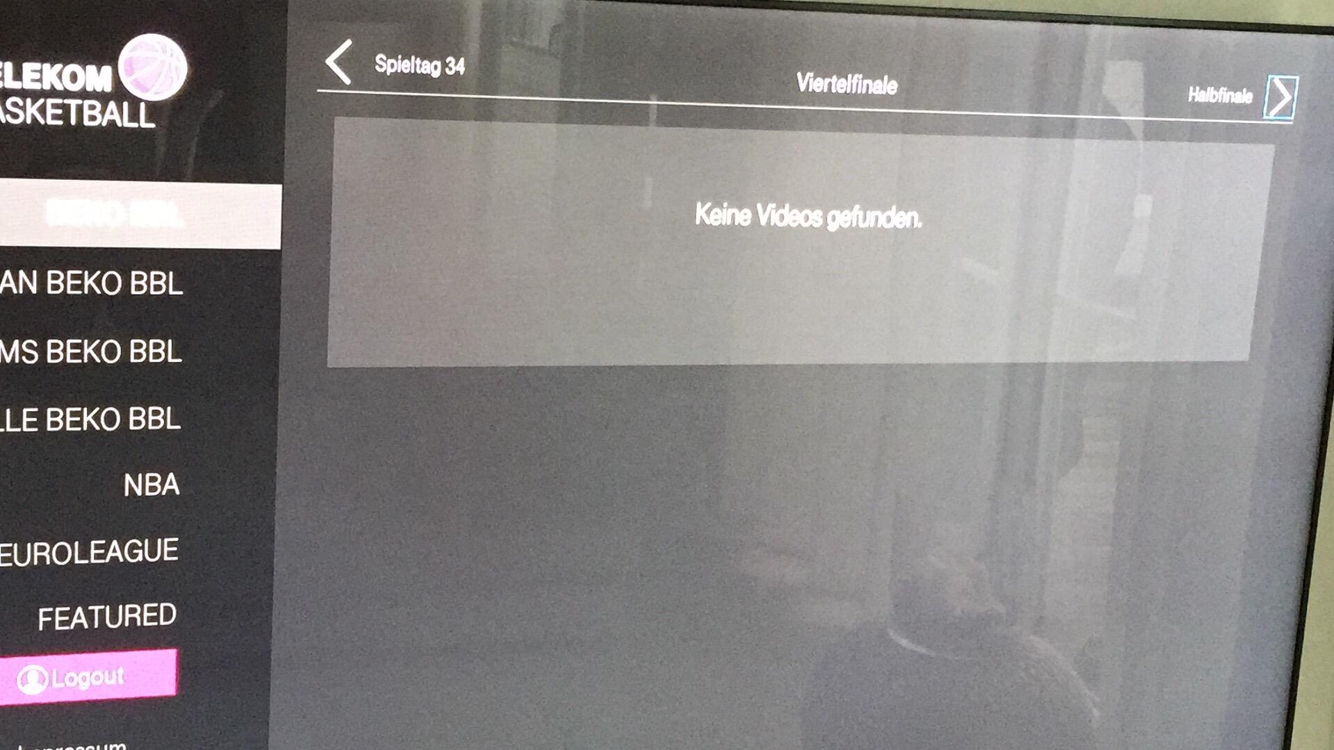 Community Telekom Basketball Samsung Tv Mit Smart App Playof