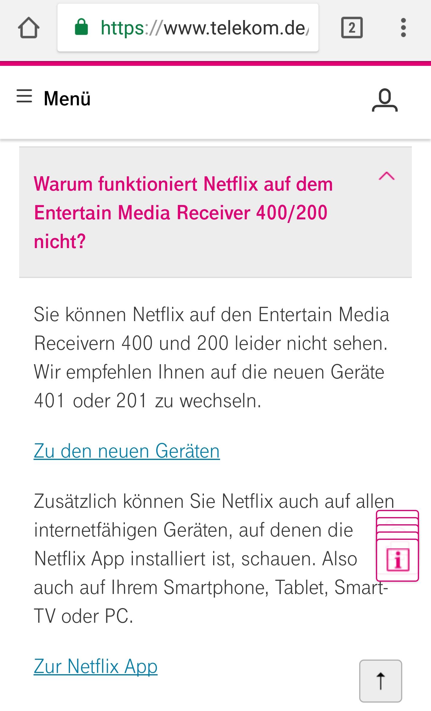 Gelöst Community Netflix Auf Receiver 400 Einrichten Seite 7