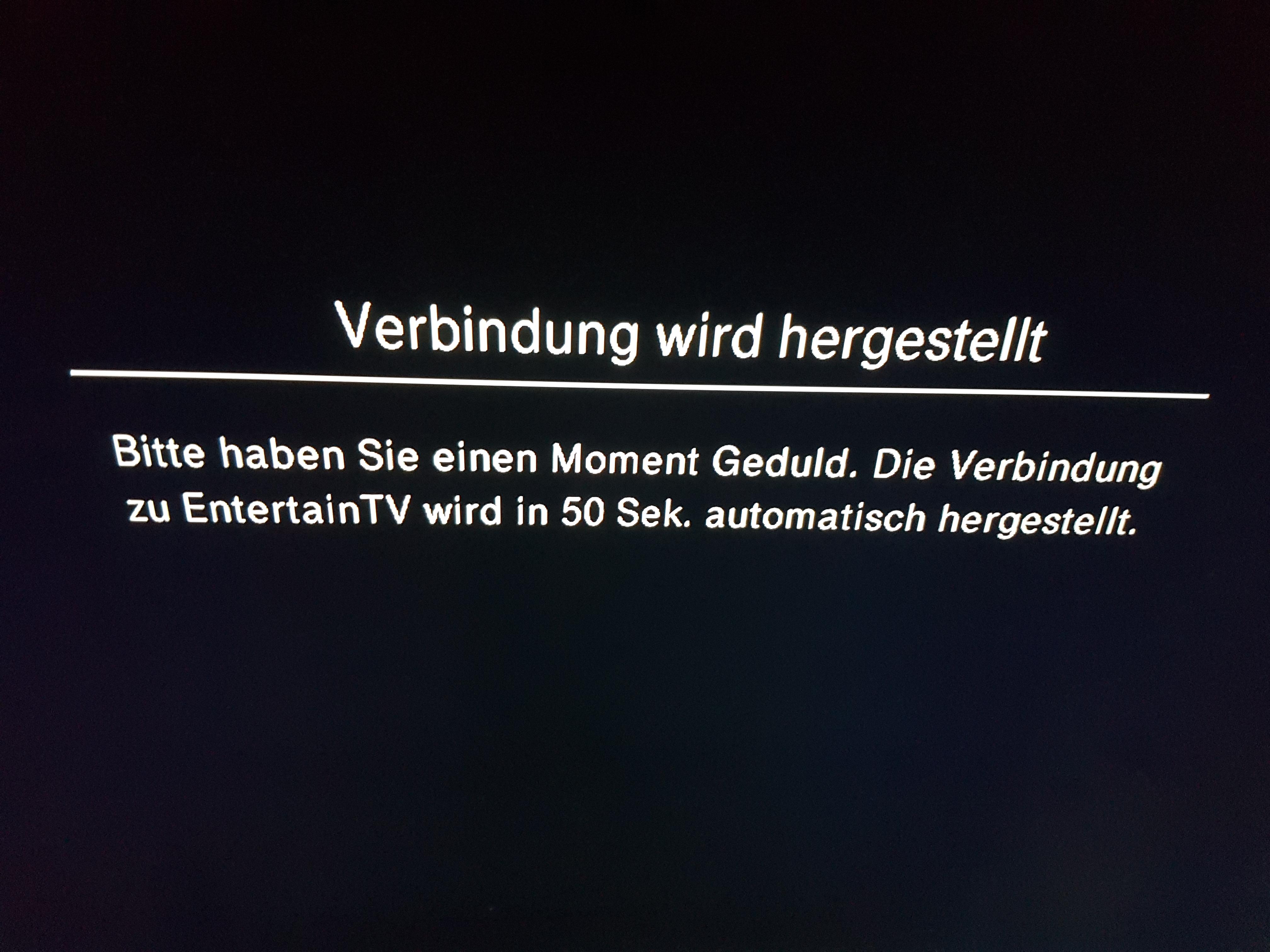 Gelöst Community Entertain Tv Hängt Immer Wieder Seite 10