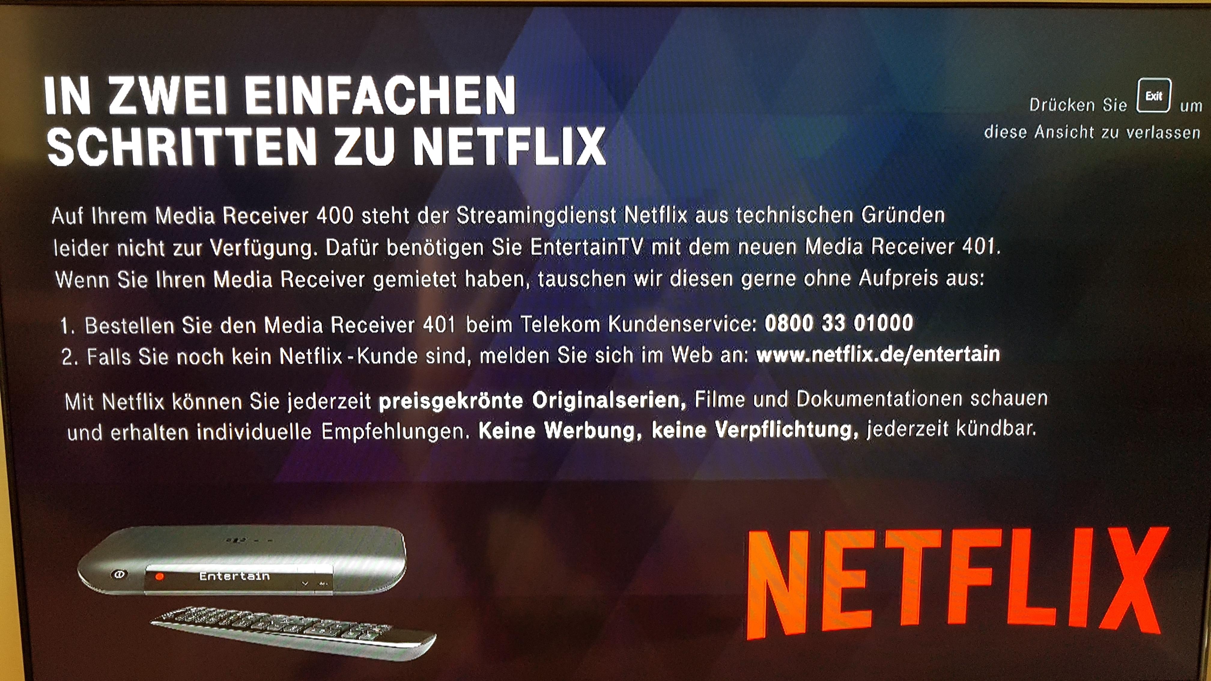 Gelöst Community Netflix Seite 3 Telekom Hilft Community
