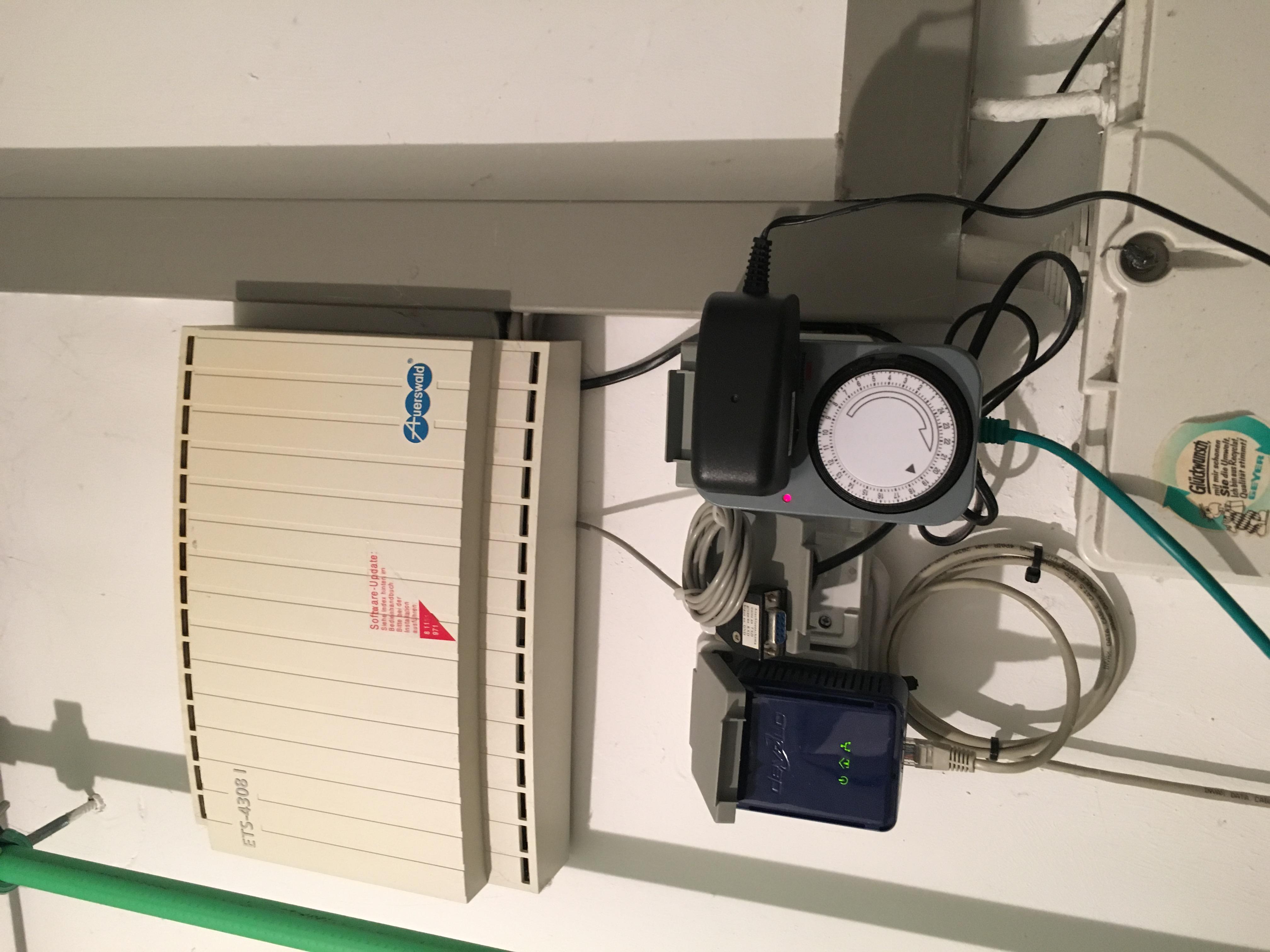 gel st installation des hybridrouters ohne telefondose h. Black Bedroom Furniture Sets. Home Design Ideas