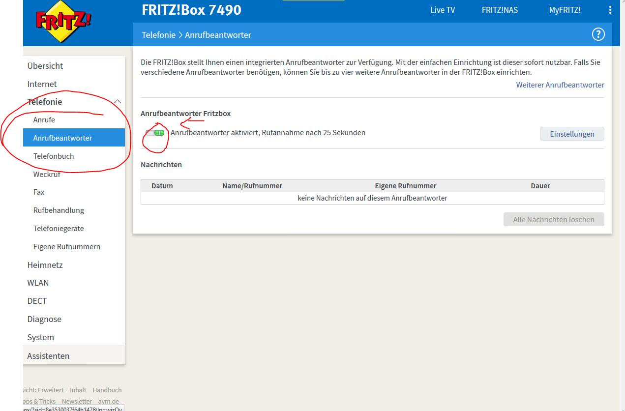 Fritzbox Ab Abhören