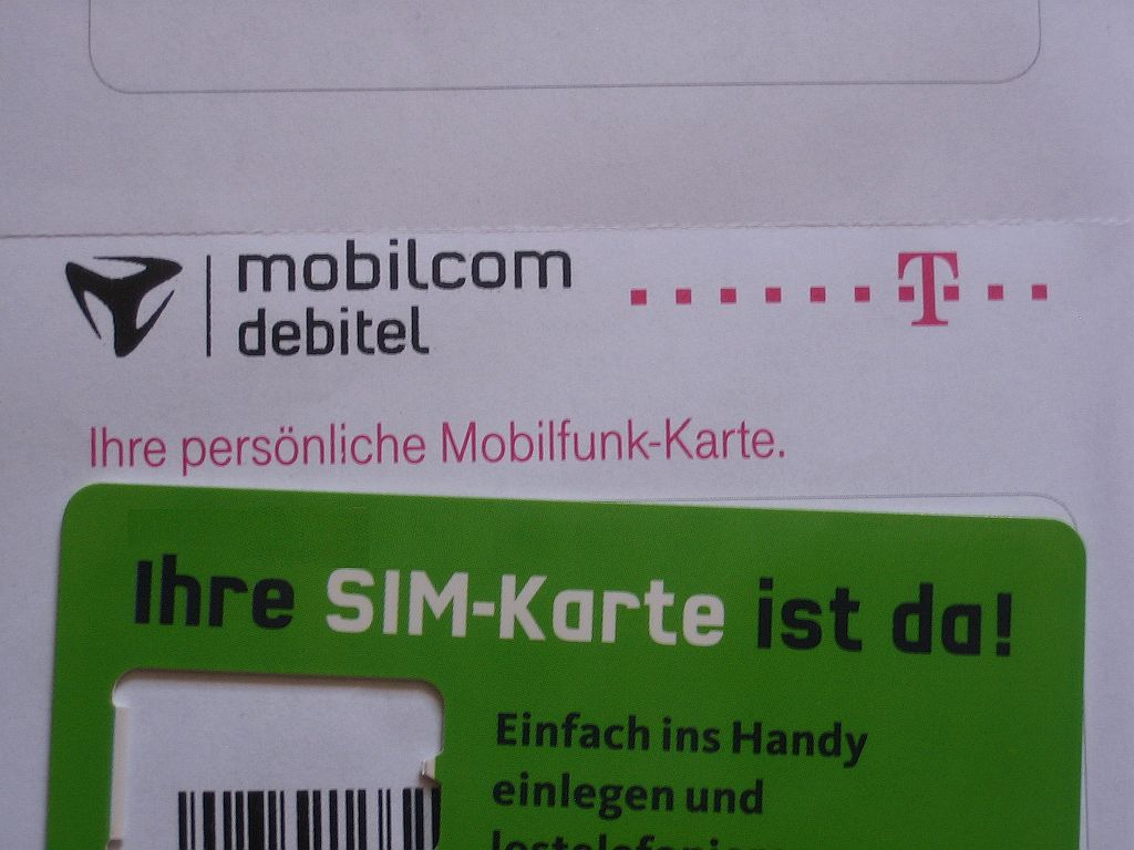 verkauft die telekom mobilcom debitel sim karten