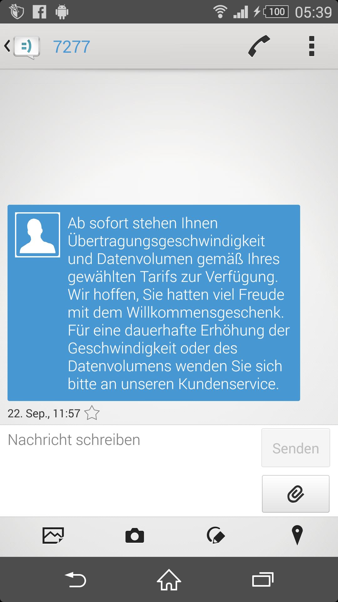 Willkommensgeschenk Telekom