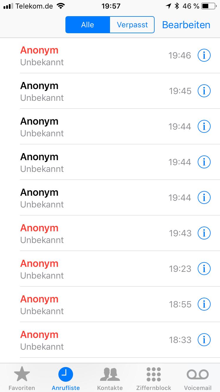 Anonyme Anrufe Sperren Telekom