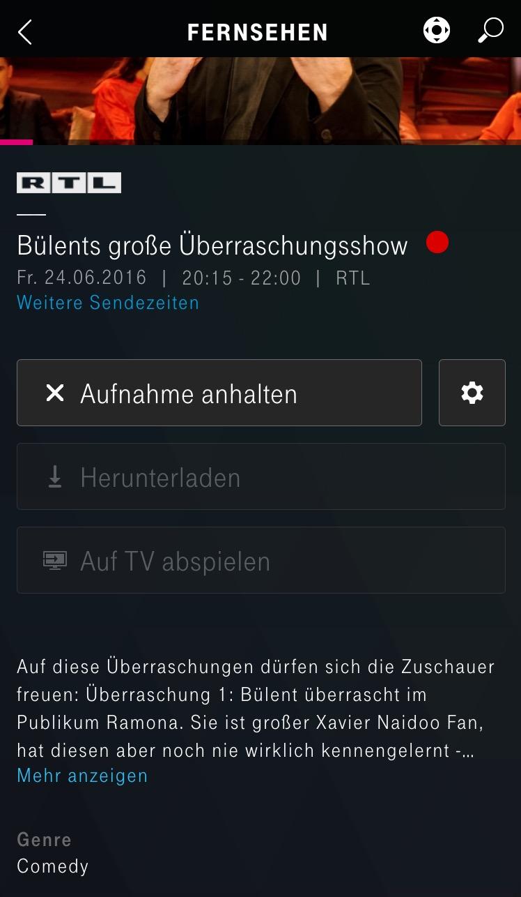 Entertain Zubuchen