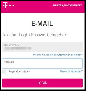 E-Mail Center Login   Telekom hilft Community