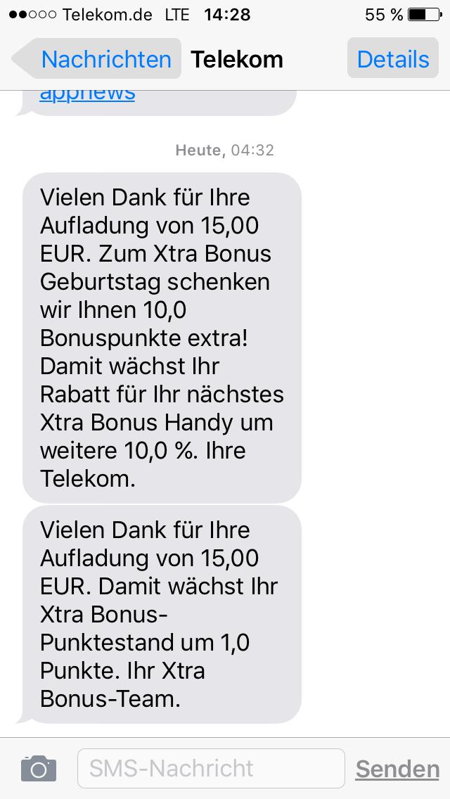 Xtra Bonus Punkte