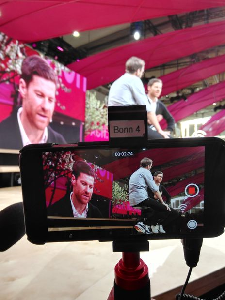 Behind the scenes - Xabi Alonso im Interview