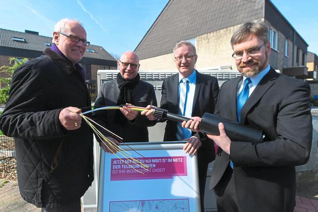 Schnelleres Internet für Münster - Der Ausbau geht voran