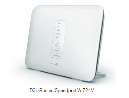 DSL-Router: Speedport W 724V