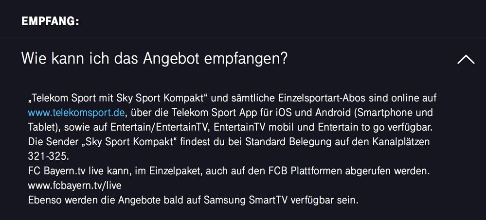 Telekom Eishockey App