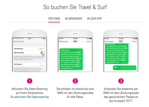 Day Pass Telekom Buchen
