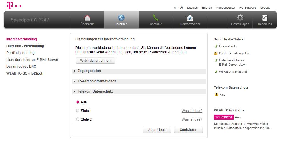 Eingehende Rufnummer Sperren Telekom