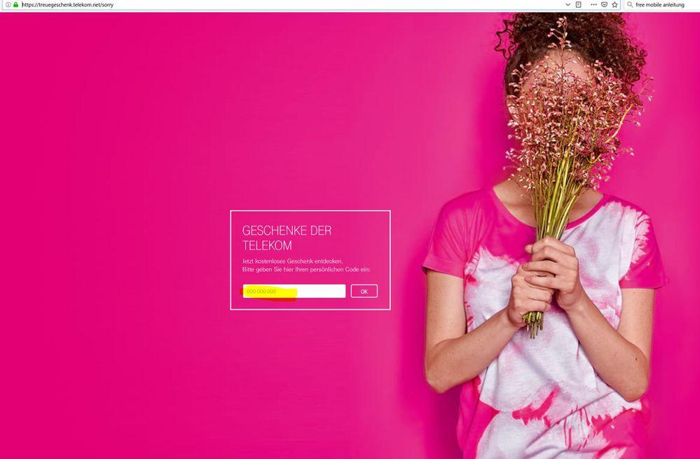 Telekom.De/Sorry