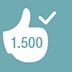 Gefeiert - 1.500 erhaltene Kudos sind beeindruckend. Die Community feiert dich mit Standing Ovations.