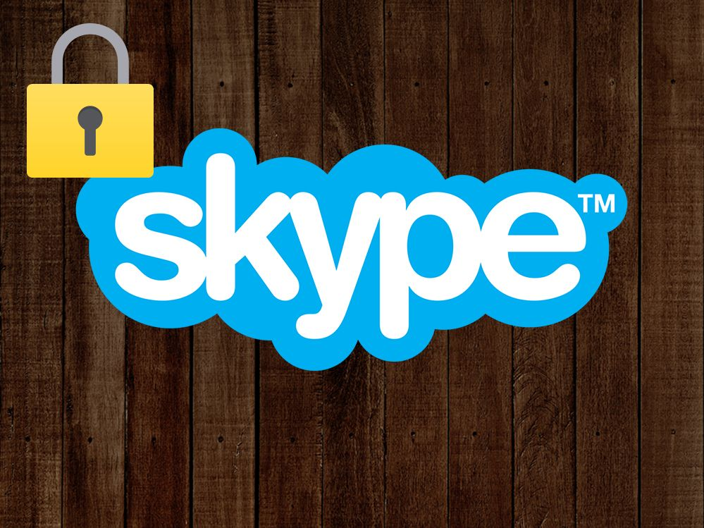 Private Unterhaltungen via Skype