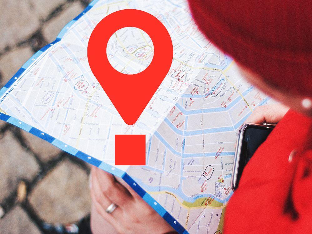 Augen auf beim Teilen des Standortes in Kartenanwendungen