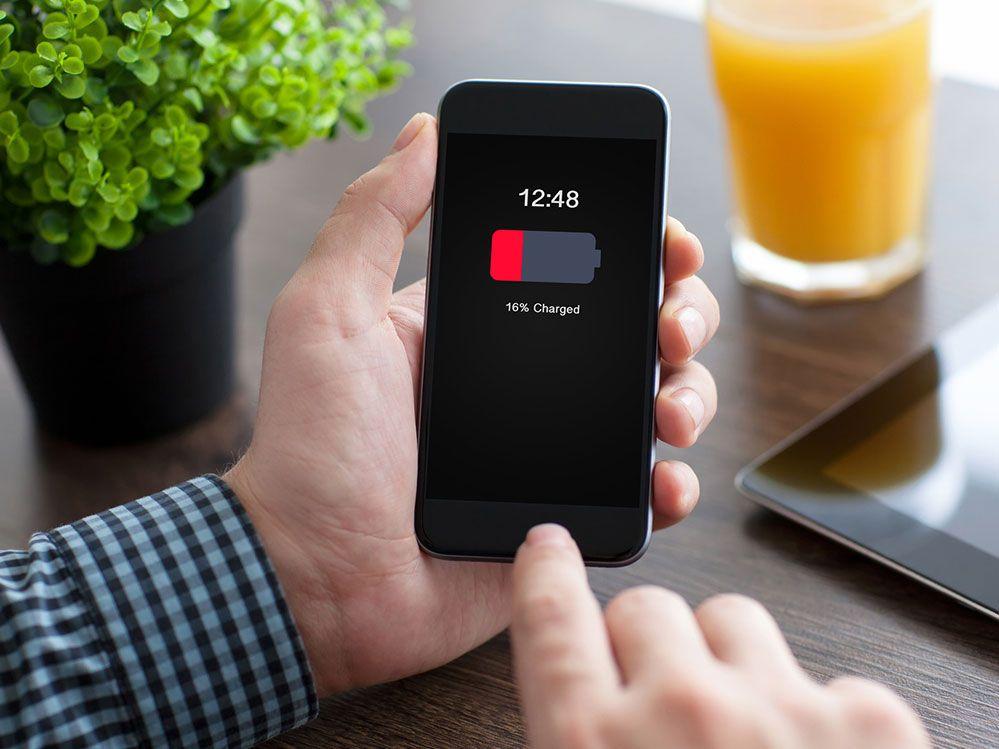 GPS kostet Batterie
