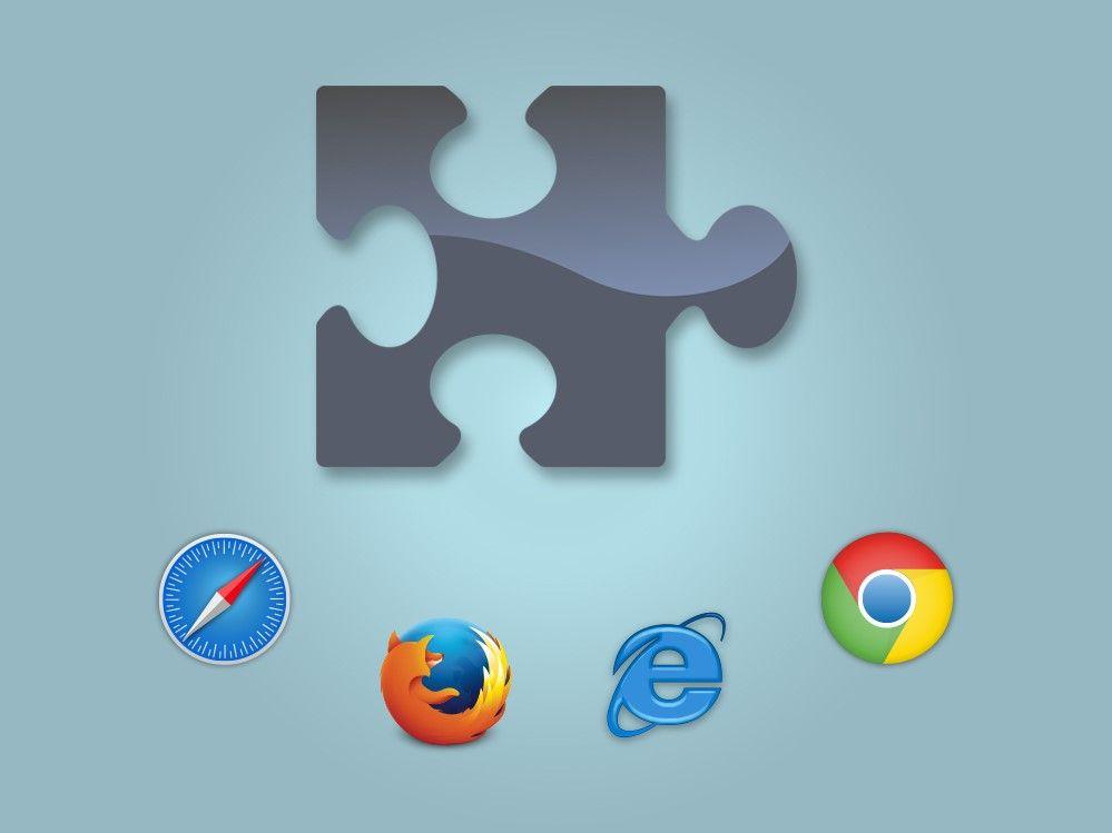 Extensions und Plugins in Chrome und Firefox